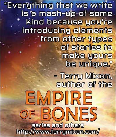 Terry Mixon, Author of Empire of Bones